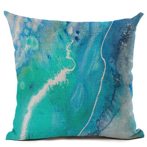 Brenda Stone  Whitsundays 'Art Cushion'  Linen look poly, includes insert