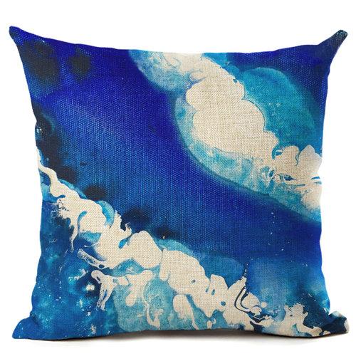 Brenda Stone  Deep Ocean 'Art Cushion'  Linen look poly, includes insert