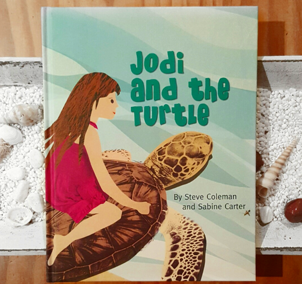 "Steve Coleman & Sabine Carter  'Jodi and the Turtle""  Children's picture book"